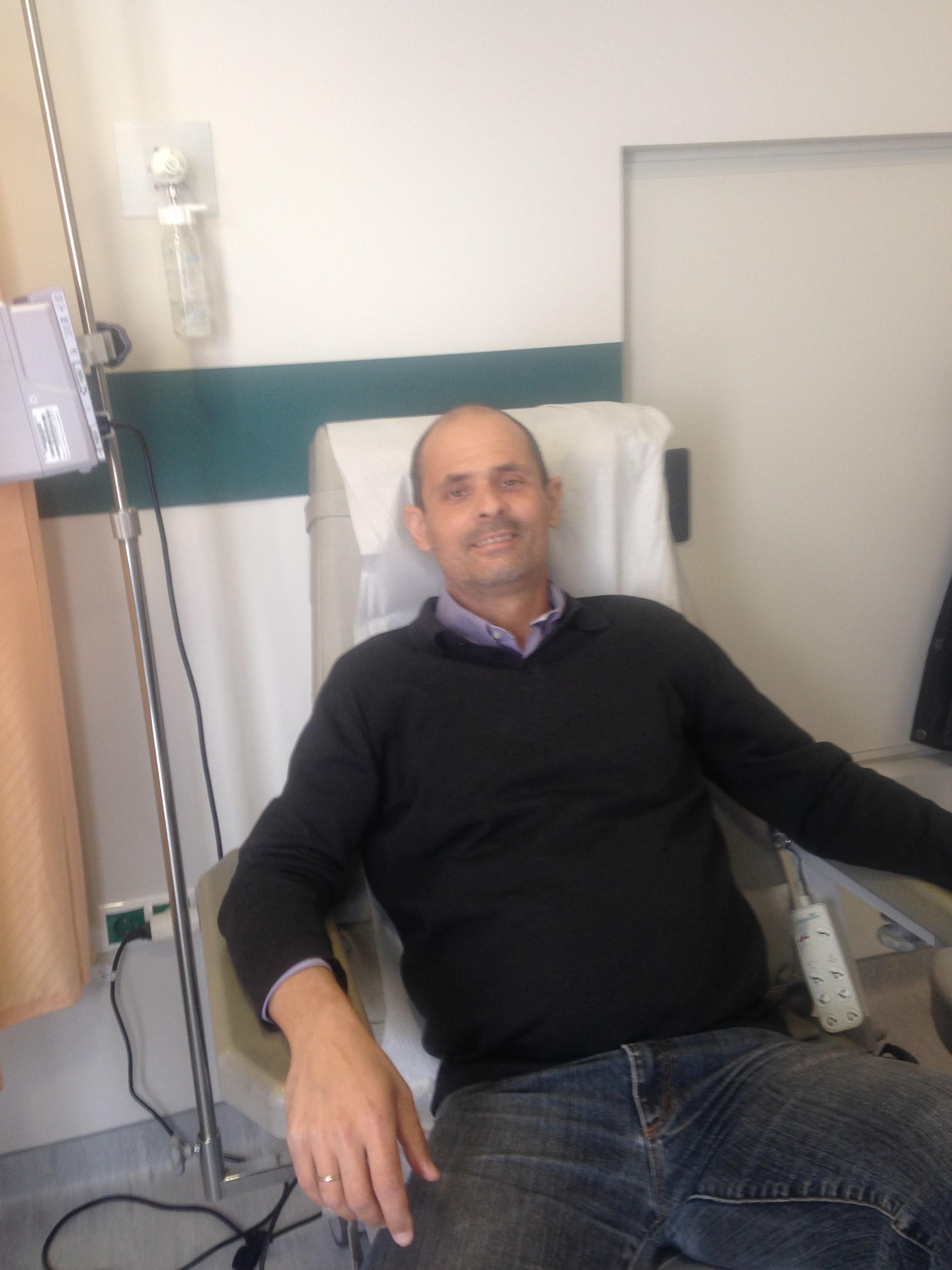 Όταν ο Δημήτρης έκανε τις θεραπείες του στο «Νίκος Κούρκουλος»